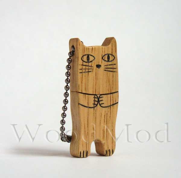 флешка кот