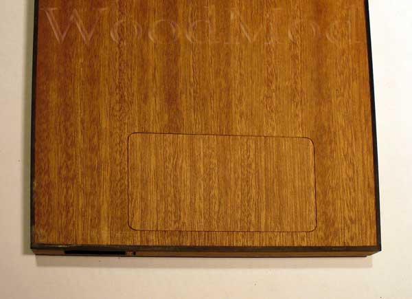 задняя стенка с крышкой